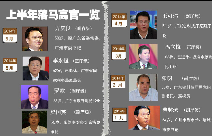 广东腐败观察:透视广东反腐风暴:剑指腐败退休官员和裸官