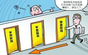 中国出台保律师执业权利规定