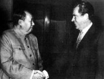 1972年美国总统尼克松访问我国