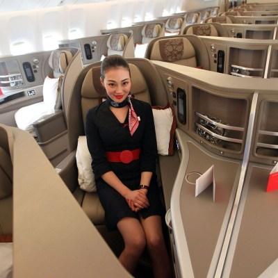 r飞机头等舱座椅平放