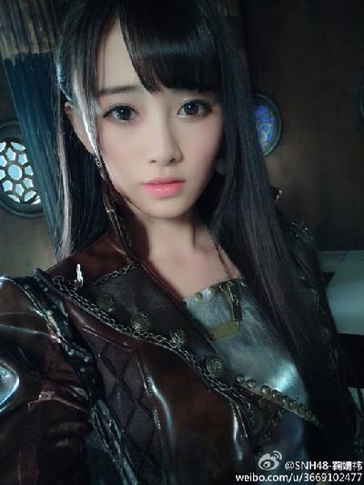 日本千年美女和服写真 竖